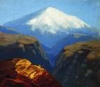 Эльбрус днем. Не ранее 1890
