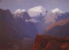 Снежные вершины. Кавказ. 1890-1895