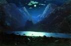 Дарьяльское ущелье. Лунная ночь. 1890-1895