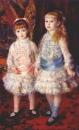 Розовое и голубое (Алиса и Элизабет Коэн д'Анвер)