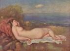 Спящая у моря