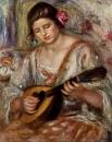 Девушка с мандолиной