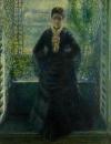 Портрет мадам Шоке у окна