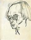 Портрет задумчивого мужчины