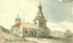 Михайловская церковь в Переяславе, 1845