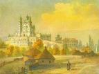 Почаевская лавра с юга, 1846