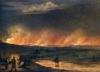 Пожар в степи, 1845