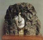 Голова Демона. 1890. Раскрашенный гипс. ГРМ