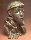 Египтянка. 1899-1900. Майолика. ГТГ