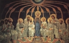Сошествие Святого Духа на апостолов. 1885