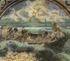 Хождение по водам. 1891 г. Эскиз стенной росписи. ГТГ