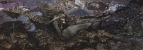 Демон поверженный. 1902. Холст, масло. 139x387 см. ГТГ