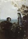 Гамлет и Офелия. 1888. Картон, масло. ГТГ