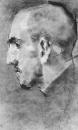 Портрет В.С.Мамонтова. 1890-1891. Бумага, сангина, пресованный уголь, растушка. ГТГ