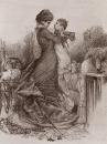 Свидание Анны Карениной с сыном. 1878.