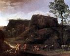 Пейзаж с Гераклом и Ахелом