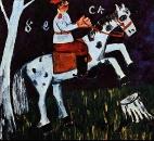 Солдат на коне