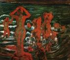 Купальщинцы при заходящем солнце. Одесса. 1904