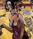 Цыганка в Тирасполе.