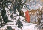 Зима. Красная Горка в царстве Берендея