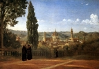 Вид Флоренции со стороны садов Боболи