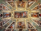Ceiling decoration Palazzo Vecchio, Florence