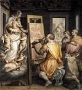 Святой Лука пишет портрет Богородицы