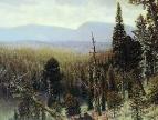 Тайга на Урале. Синяя гора. 1891