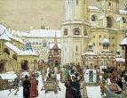 Площадь Ивана Великого в Кремле. XVII век. 1903
