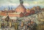 Пушечно-литейный двор на реке Неглинной в XVII век. 1918