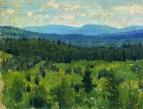 Уральский пейзаж. 1890-1891