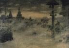 Вьюжит. Метель. Старая Москва. 1904