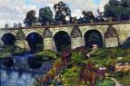Дворцовый мост XVIII века через реку Яузу. Лефортово. 1920-е