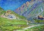 Горный пейзаж. 1895