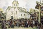 Оборона Москвы от хана Тохтамыша. XIV век. 1918