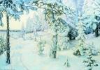 Зимний сон ( Зима ). 1908-1914