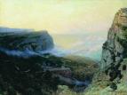 Крым. Байдарские ворота. 1890