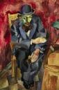 Мужчина в котелке. Портрет Якова Каган-Шабшая