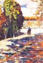 Всадник в парке Сен-Клу