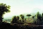 Вид Сицилии. Горы. 1811 год