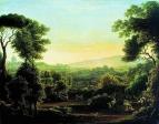 Окрестности Рима. 1810 год