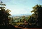Вид в окрестностях Берна. 1817 год