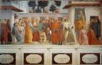 Воскрешение сына Теофила и святой Пётр на кафедре