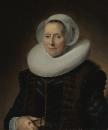 Портрет Марит Вохт, жены Питера Оликана