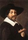 Портрет мужчины, держащего книгу