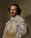 Портрет джентльмена в белом