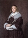 Портрет стоящей женщины