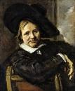 Портрет сидящего мужчины в шляпе