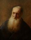 Портрет пожилого мужчины с бородой