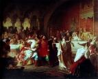 Великая княгиня Софья Витовтовна на свадьбе Василия Тёмного  1861